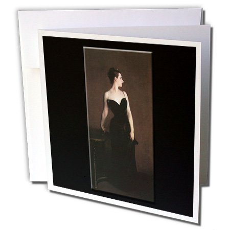 Madame X by John Singer Sargent - Greeting Cards, 6 x 6 inches, set of 6 (gc_149532_1) (Note Cards John Singer Sargent compare prices)