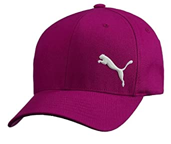 PUMA Men's Teamsport Formation Flex Fit Cap, Burgundy, Small/Medium