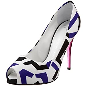 Giuseppe Zanotti Women's E06098 Peep Toe Pump from endless.com