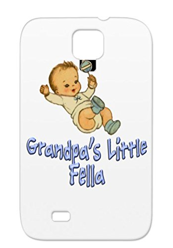 Babys Grandpa Mommy Baby Family Grandma Babies Daddy Baby Clothes Bibs Babys Apparel Tpu For Sumsang Galaxy S4 White Grandpas Little Fella Case Cover front-443767