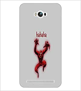 PrintDhaba Funny Image D-4195 Back Case Cover for ASUS ZENFONE MAX ZC550KL (Multi-Coloured)