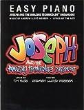 Andrew Lloyd Webber: Joseph And The Amazing Technicolor Dreamcoat (Easy Piano)