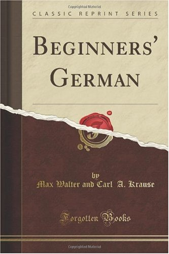 Beginners' German