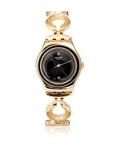 Swatch Reloj de cuarzo Woman BLACK HAT YSG130G 25.0 mm