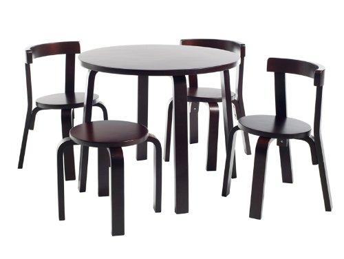 Svan 60000-3 / 25005 – Mini-Kinder-Möbel-Set espresso günstig online kaufen