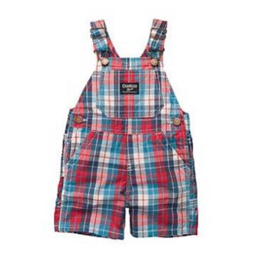 Osh Kosh Bgosh Infant Boys Blue & Red Checked