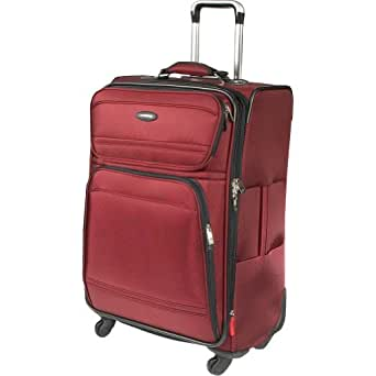 Samsonite Luggage Dkx 25 Exp Spinner Wheeled Suitcase, Burgundy, One Size