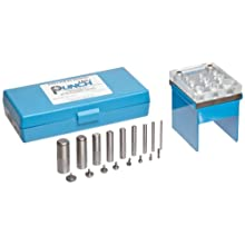 Precision Brand TruPunch Punch and Die Set with Stand