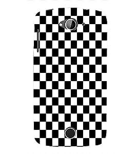 Fuson Premium Game of Chess Printed Hard Plastic Back Case Cover for Acer Liquid Z530S