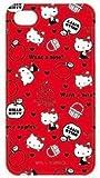 [Softbank iPhone 4専用] ハローキティ キャラクタージャケット(レッド/リンゴ)
