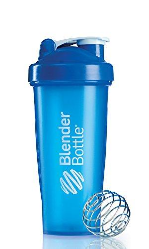 Blenderbottle Classic Shaker Bottle, 28-Ounce, Blue/Blue