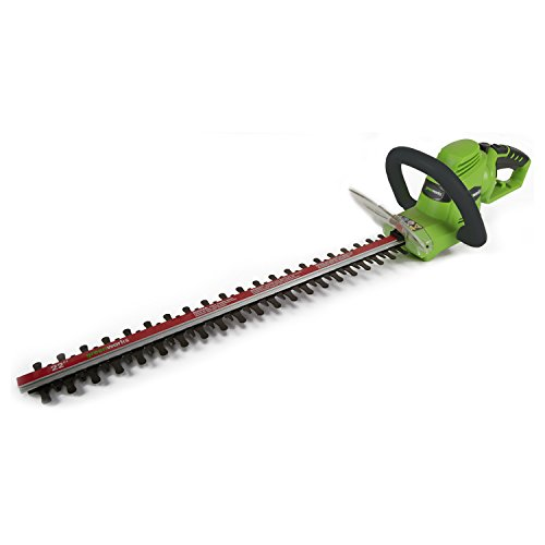 GreenWorks HT04B00 4 AMP 22-Inch Corded Hedge Trimmer (Greenworks Bush Trimmer Cord compare prices)