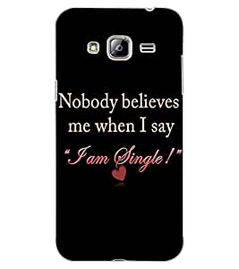 ColourCraft Quote Design Back Case Cover for SAMSUNG GALAXY J3