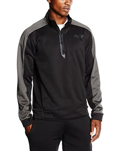 Puma Sweatshirt Tech Fleece schwarz