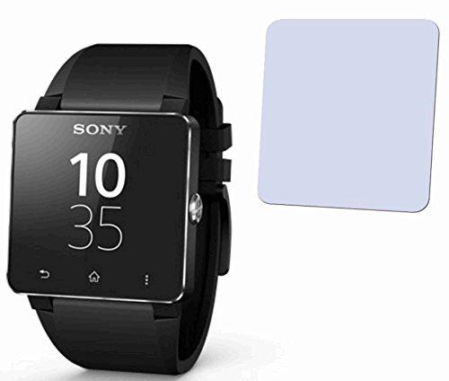 2x-Sony-SmartWatch-2-SW2-Displayschutzfolie-Bildschirmschutzfolie-kristallklar-von-4ProTec