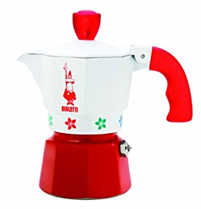 "Bialetti: Moka Express ""Artisti"" Limited Edition 1-Cup Red [ Italian Import ] by Bialetti"