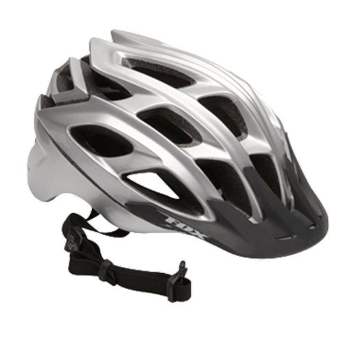 Fox Clothing Striker MTB Helmet 2011 Large/XLarge Silver