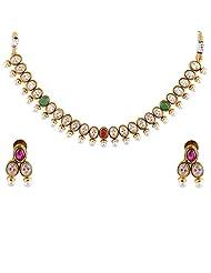 Bhagwathi Antique Necklace Set (BGPS0016)