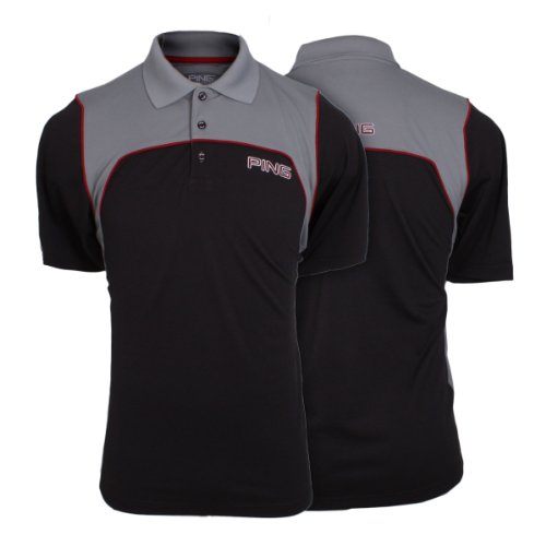 Ping Collection Men's G20 Golf Polo Shirt - Charcoal/Graphite - XL