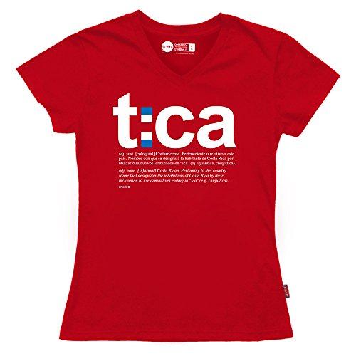 Women's T-Shirt - Costa Rica Tica by Arteria - Original t shirt trussardi collection t shirt