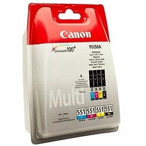 canon pixma mg 5550 original canon 6509b009 cli 551. Black Bedroom Furniture Sets. Home Design Ideas