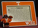 Tennessee Smokey Mascot Frame Orange