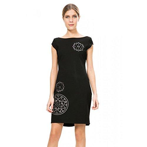 Desigual Damen Kleid Gr. 46, Schwarz thumbnail