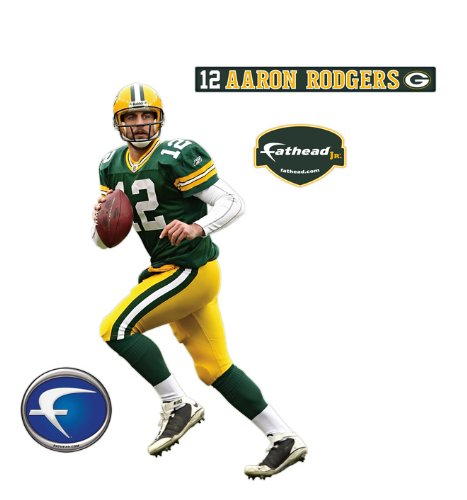 Green Bay Packers Aaron Rodgers Junior Wall Decal