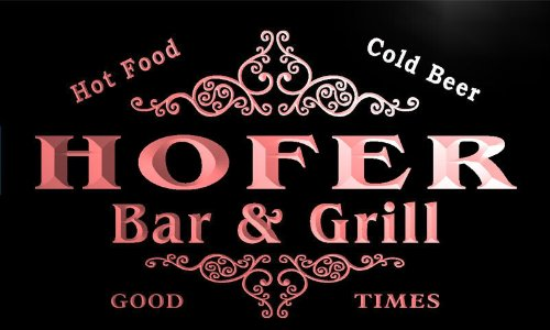u20486-r-hofer-family-name-bar-grill-home-beer-food-neon-sign-barlicht-neonlicht-lichtwerbung