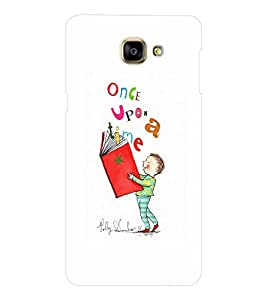 EPICCASE Once upon a Time Mobile Back Case Cover For Samsung Galaxy A9 (Designer Case)