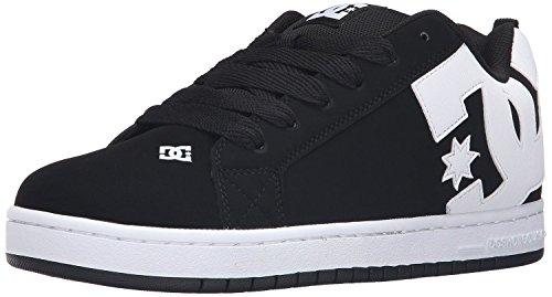 dc-court-graffik-m-black-white-suede-mens-skate-trainers-shoes-9