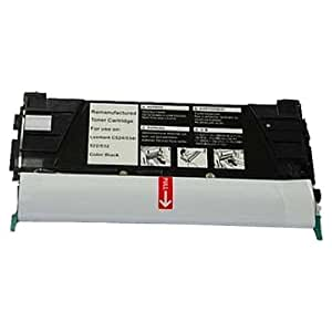 Amsahr C5220KS Lexmark C5220KS, C522 Remanufactured Replacement Toner Cartridge with One Black Cartridge