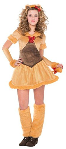 [Teen Cowardly Lioness Costume - L] (Cowardly Lion Costumes For Adults)