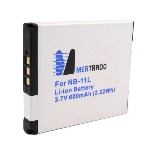 Li-Ion Akku für Canon NB-11L / NB11L | geeignet für Canon Digital Ixus 125 HS / 240 HS und PowerShot A2300 / A2400 IS / A3400 IS / A4000 IS