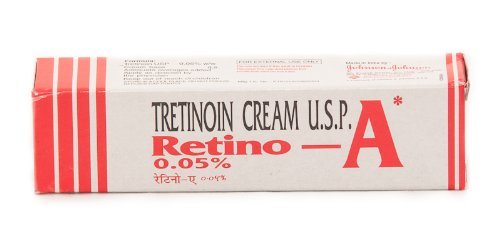 Tretinoin Cream 0.05% Tube | Retino-A Johnson-Johnson Limited | Retin-A Tretinoin for Treating Acne, Balancing Skin Tone & Reducing Wrinkles ONLY available from Health & Beauty     Pros