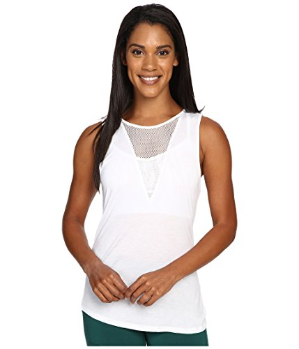 ALO Women's Warm-Up Tank Top White Tank Top SM (Alo Tank Top compare prices)