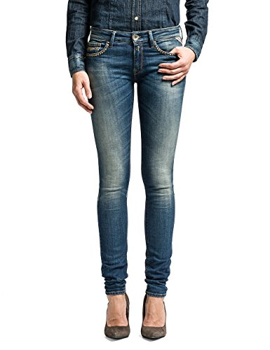 Replay - Pantaloni, Donna, Blue Denim 10, 42 IT (28W/34L)