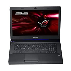 Asus G73JH-TZ046V 43,9 cm (17,3 Zoll) Notebook (Intel Core i7 720QM, 1,6GHz, 6GB RAM, 640GB HDD, ATI HD 5870, Win7 HP, Blu-ray)