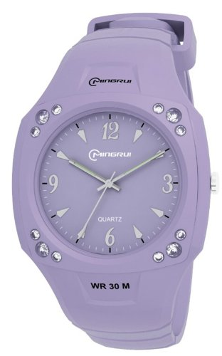 30M Water-Proof Analog Girls Sport Watch Mr-8801Up-8