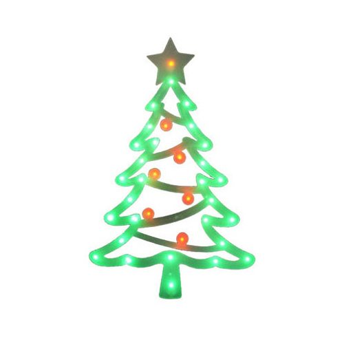 Noma/Inliten-Import V20865 Led Wind Xmas Tree