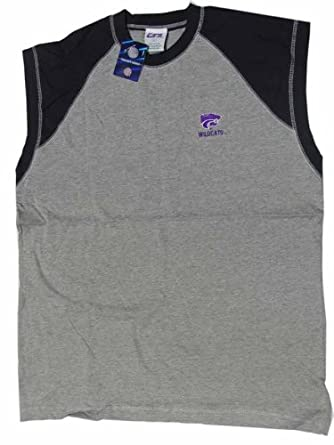 Buy Kansas State Wildcats NCAA Grey with Black Adult Buff Jersey by NCAA