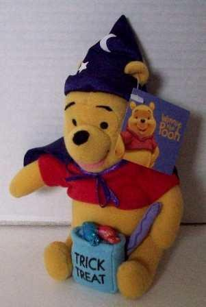 Winnie the Pooh Trick or Treat Plush 7 Inches Tall - 1