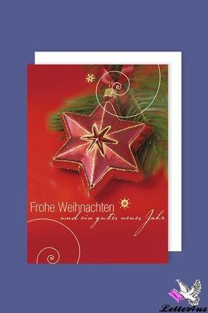 .Weihnachtskarten im 4er-Set in
