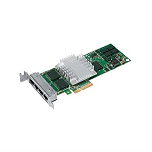 Intel EXPI9404PTLBLK PRO/1000 PT 4-Port Low Profile PCI-E Server Adapter, Bulk EXPI9404PTLBLK LOW PROFILE