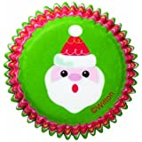 Wilton Holiday Frosted Fun Mini Baking Cup, 100 Count
