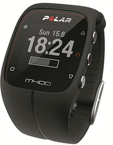 POLAR(ポラール) M400 ブラック(GPSスポーツウォッチ&活動量計)【日本語対応/日本正規品】 90051091