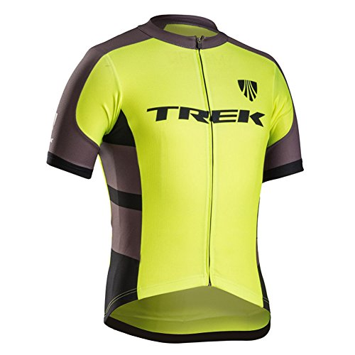 Luckyspring Trek Factory Racing Mens MTB Cycling Short Sleeve Jersey Bike Shirt Bicycle Top (Rock Cycling Jersey compare prices)