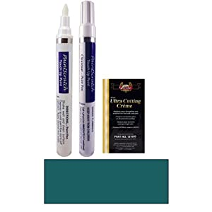 Hyundai Color Card Metallics on Oz  Peacock Green Metallic Paint Pen Kit For 1994 Hyundai All
