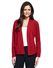 M&S Collection Cashmilon™ Open Front Cardigan