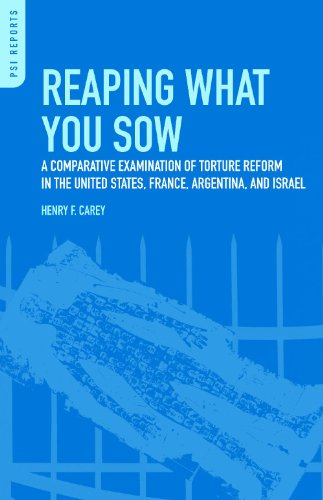 Reaping What You Sow: A Comparative Examination of Torture Reform in the United States, France, Argentina, and Israel (PSI Reports)
